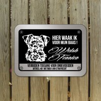 welsh terrier waakbord