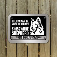 zwitserse-witte-herder-bord